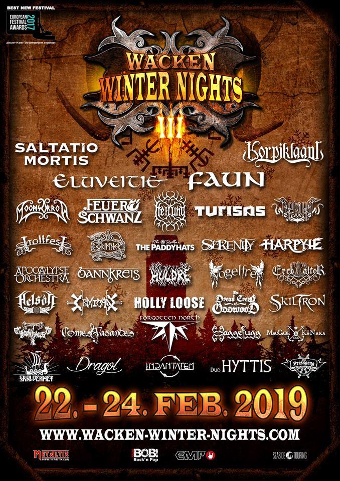 Helsott to play Wacken Winter Nights and Cernunnos Pagan Fest
